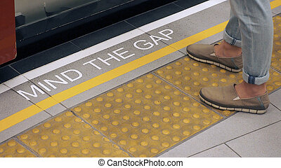 Mind the gap with white color