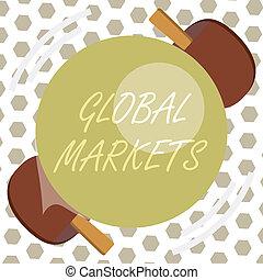 minden, fogalom, szó, ügy, országok, szöveg, globális, írás, ingóságok, kereskedés, markets., szolgáltatás, világ
