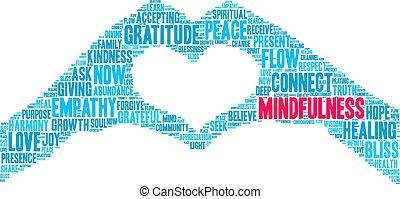 mindfulness, 雲, 単語
