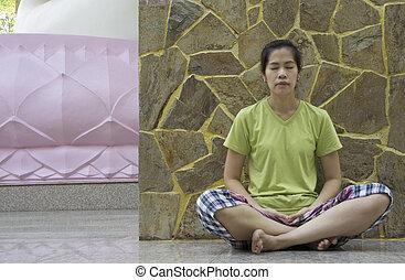 mindfulness free relaxation meditation buddhism concept