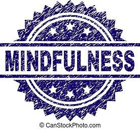 mindfulness, textured, timbre, cachet, gratté