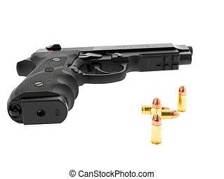 mindkét, beretta, használt, rendőrség, loei, 10, 9mm, -, ...
