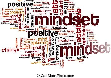 mindset, 雲, 単語
