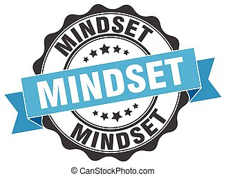 mindset stamp. sign. seal