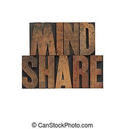 mindshare, 老, 木頭, 類型
