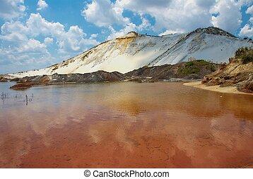 Mine dump - Gold mine dump