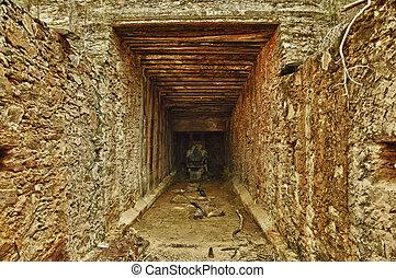 Mine tunnel