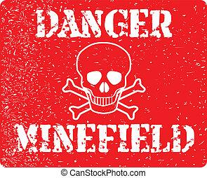 minefield, peligro