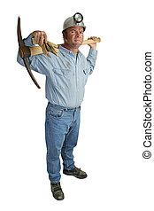 mineiro, com, pickax, duração cheia