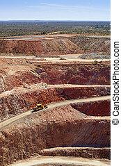 mineração, austrália
