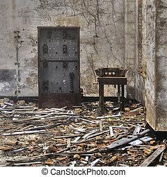 mineração, ruínas