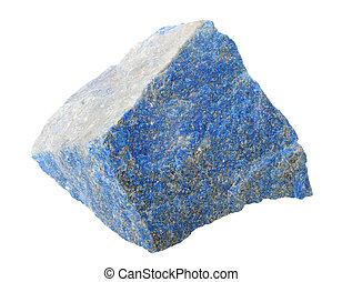 Mineral collection: Lapis lazuli.