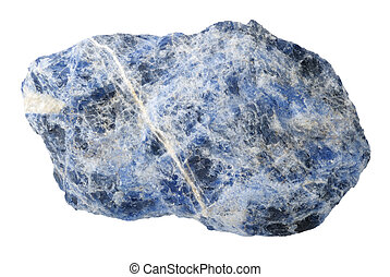 Mineral collection: sodalite.