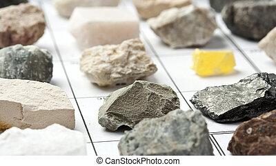 minerales, colección