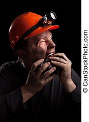 minero de carbón
