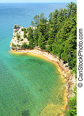 Miners Castle at Pictured Rocks National Lakeshore