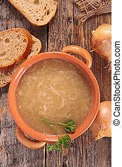 minestra, cipolla