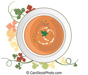 minestra, zucca