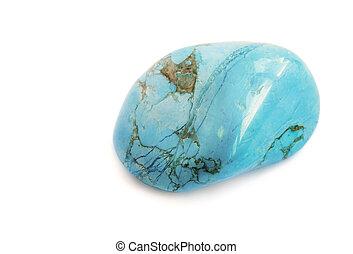 minetral, トルコ石色の青, 石
