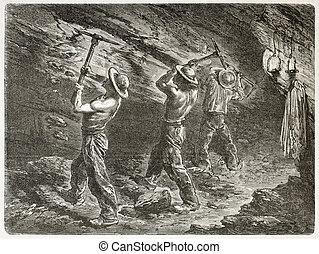 mineurs charbon