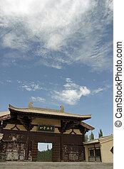 mingsha, shan, en, dunhuang, china