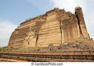 Mingun Pahtodawgy Myanmar - The MIngun Pahtodawgy, Mingun, ...