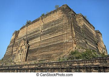 Mingun Pahtodawgyi - Myanmar - The Mingun Pahtodawgyi is a ...
