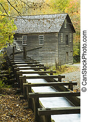Mingus Mill - Built in 1886, this historic grist mill uses a...