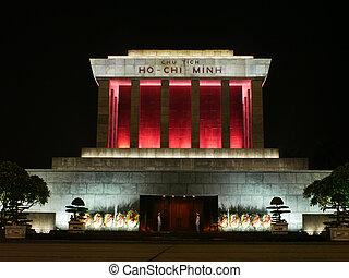 minh, χ, ハノイ, ベトナム, ho, 壮大な墓