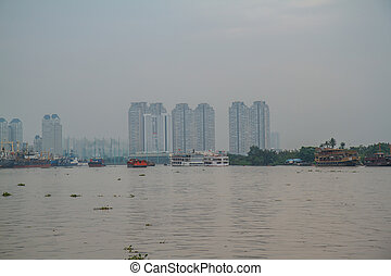minh, chi, city., ho, port