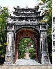 Minh Mang Tomb (UNESCO) in Hue, Vietnam