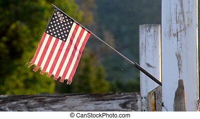 Mini American USA Flag