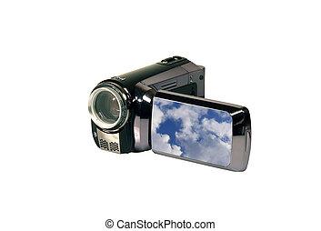 mini, appareil photo, vidéo, hd