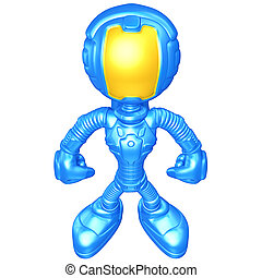 mini, astronauta