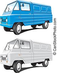 mini autobus