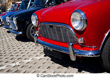 mini, classic autó