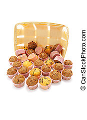 Mini Cupcakes Out of Box