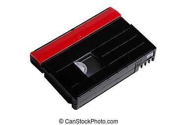 Mini DV video cassette on