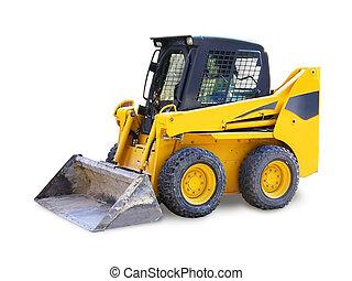 Mini excavator-grab - Mini excavator - grab, building ...