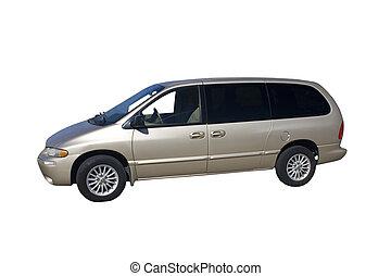 mini furgone, beige