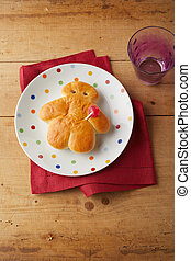 Mini German Stutenkerl for St Nicholas Day celebrations on a...