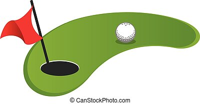 miniature golf clipart and stock illustrations 228 miniature golf rh canstockphoto com clipart golf away day clipart golfers