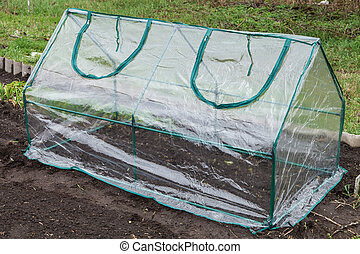 Mini greenhouse - Frame collapsible mini greenhouses...