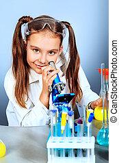 mini, laboratório