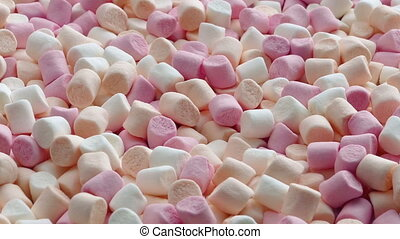 Mini Marshmallow Candies - Lots of small marshmallows...