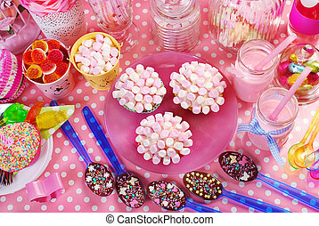 birthday party table for kids