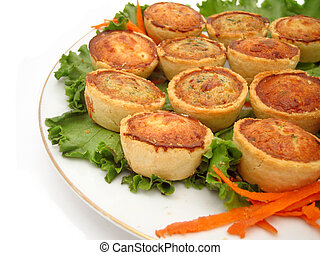 mini quiches - quiche platter