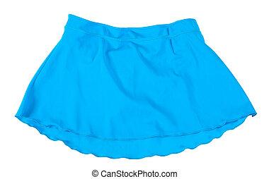 Mini skirt. Isolated