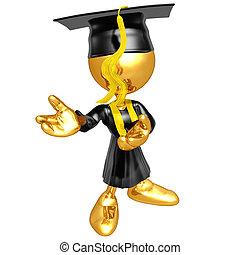 mini, tipo, original, graduado