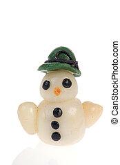 miniatura, boneco neve